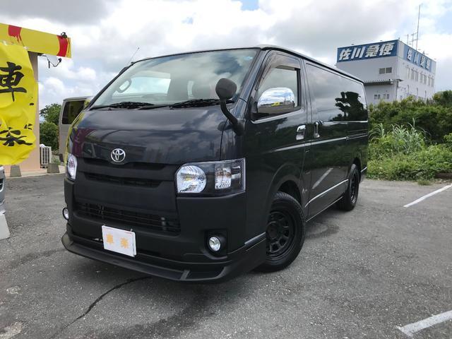 沖縄の中古車 トヨタ ハイエースバン 車両価格 134万円 リ済込 2005(平成17)年 21.0万km ガンM