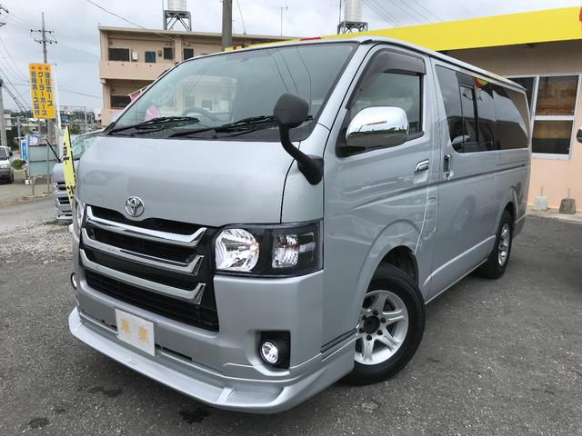 沖縄の中古車 トヨタ ハイエースバン 車両価格 149万円 リ済込 2006(平成18)年 17.3万km シルバーM