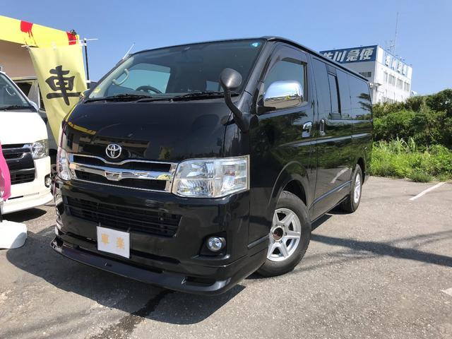 沖縄の中古車 トヨタ ハイエースバン 車両価格 209万円 リ済込 2010(平成22)年 13.7万km ブラック