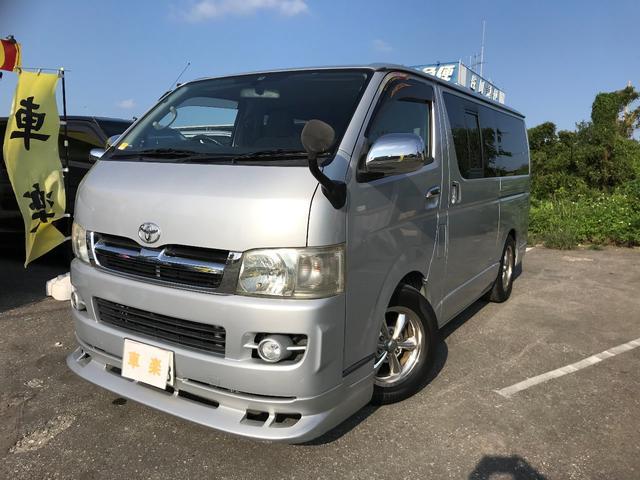 沖縄の中古車 トヨタ ハイエースバン 車両価格 134万円 リ済込 2005(平成17)年 20.6万km シルバーM