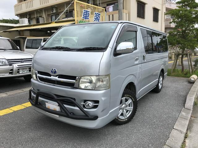 沖縄の中古車 トヨタ ハイエースバン 車両価格 134万円 リ済込 2006(平成18)年 18.7万km シルバーM