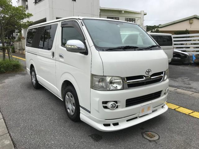 沖縄県沖縄市の中古車ならハイエースバン ロングスーパーGL