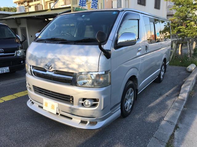 沖縄の中古車 トヨタ ハイエースバン 車両価格 103万円 リ済込 2007(平成19)年 19.7万km シルバーM