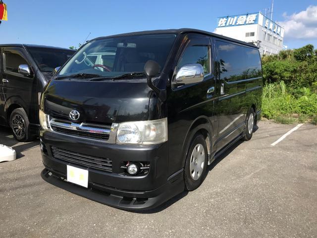 沖縄の中古車 トヨタ ハイエースバン 車両価格 109万円 リ済込 2007(平成19)年 21.2万km ガンM