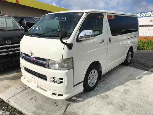沖縄の中古車 トヨタ ハイエースバン 車両価格 109万円 リ済込 2007(平成19)年 22.6万km ホワイト