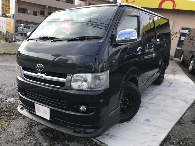 沖縄の中古車 トヨタ ハイエースバン 車両価格 149万円 リ済込 2006(平成18)年 16.7万km ガンM