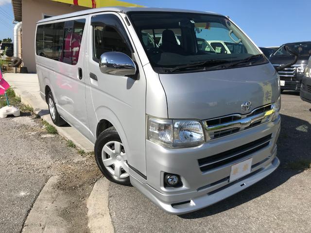 沖縄の中古車 トヨタ ハイエースバン 車両価格 119万円 リ済込 2011(平成23)年 14.9万km シルバーM