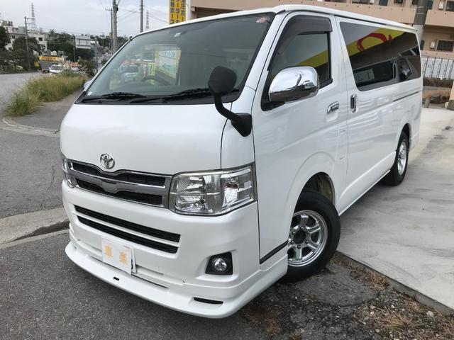 沖縄の中古車 トヨタ ハイエースバン 車両価格 169万円 リ済込 2011(平成23)年 21.1万km パールホワイト