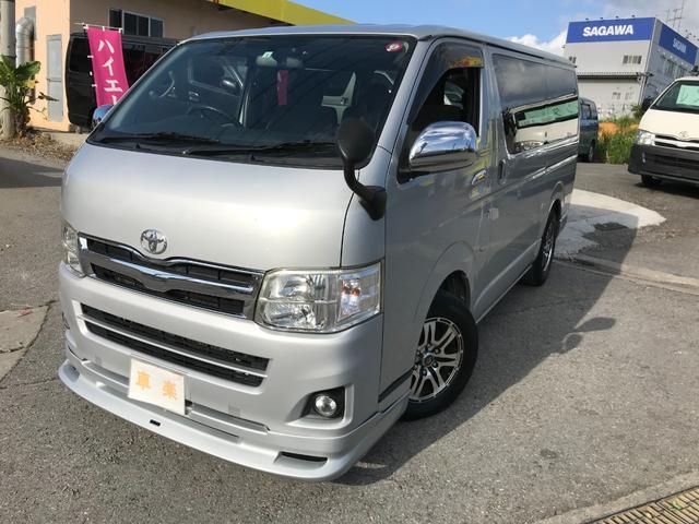 沖縄の中古車 トヨタ ハイエースバン 車両価格 149万円 リ済込 2010(平成22)年 22.1万km シルバー