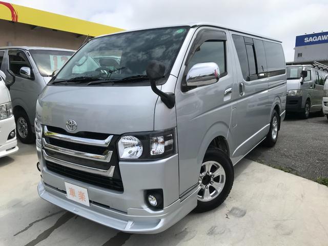 沖縄の中古車 トヨタ ハイエースバン 車両価格 149万円 リ済込 2006(平成18)年 16.4万km シルバー