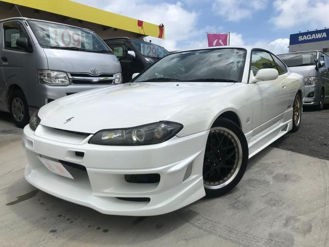 沖縄の中古車 日産 シルビア 車両価格 209万円 リ済込 2001(平成13)年 12.0万km パールホワイト