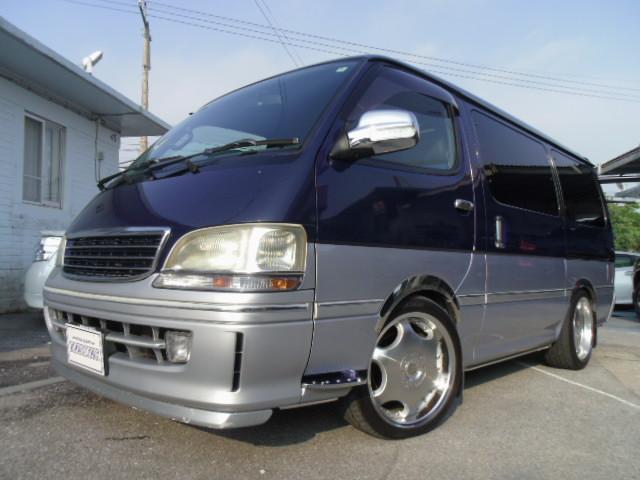 トヨタ スーパーカスタムG社外18アルミ ローダウン サンルーフ