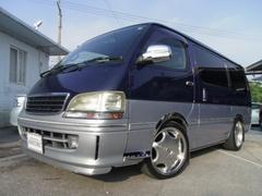 沖縄の中古車 トヨタ ハイエースワゴン 車両価格 69万円 リ済別 平成9年 21.0万K 紺II
