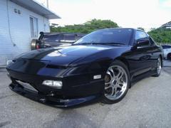 沖縄の中古車 日産 180SX 車両価格 105万円 リ済別 平成6年 17.3万K ブラック