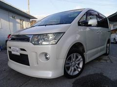 沖縄の中古車 三菱 デリカD:5 車両価格 78万円 リ済別 平成19年 11.7万K パールホワイト