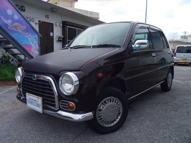 沖縄の中古車 ダイハツ ミラ 車両価格 25万円 リ済込 平成9年 11.2万km ブラウン