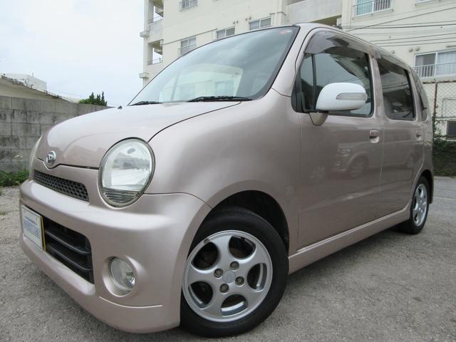 沖縄の中古車 ダイハツ ムーヴラテ 車両価格 34万円 リ済別 2006(平成18)年 8.5万km ピンク