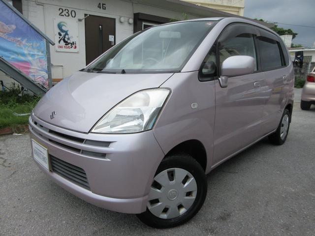 沖縄の中古車 スズキ MRワゴン 車両価格 9万円 リ済込 2004(平成16)年 15.0万km ピンク