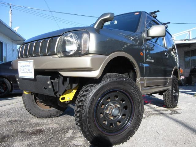 沖縄県の中古車ならジムニー ランドベンチャー リフトアップ 社外アルミ 社外マフラー