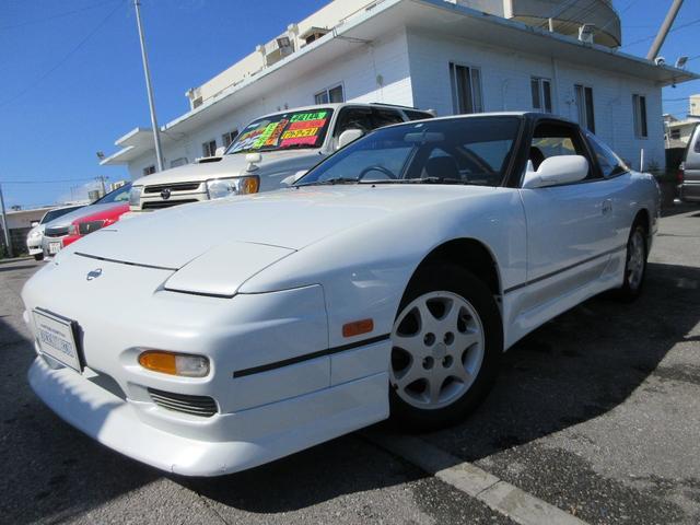 沖縄県の中古車なら180SX タイプR フルエアロ 社外マフラー HDDナビ フルセグTV