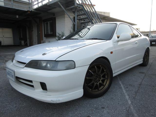 沖縄の中古車 ホンダ インテグラ 車両価格 129万円 リ済別 1998(平成10)年 16.5万km ホワイト