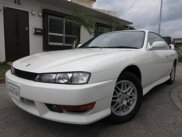 沖縄の中古車 日産 シルビア 車両価格 109万円 リ済別 1997(平成9)年 11.6万km パールホワイト