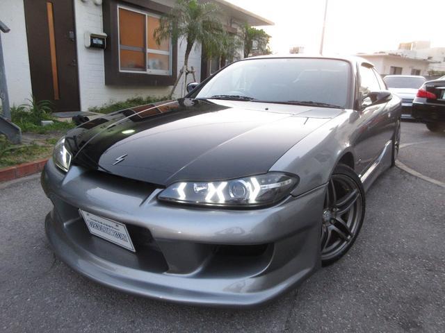 沖縄の中古車 日産 シルビア 車両価格 119万円 リ済別 1999(平成11)年 16.5万km グレー