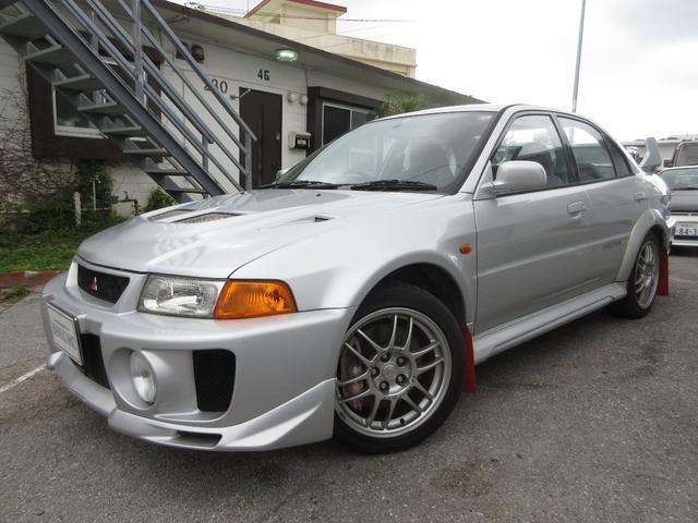 沖縄県の中古車ならランサー GSRエボリューションV 記録簿多数あり タイベル交換済み