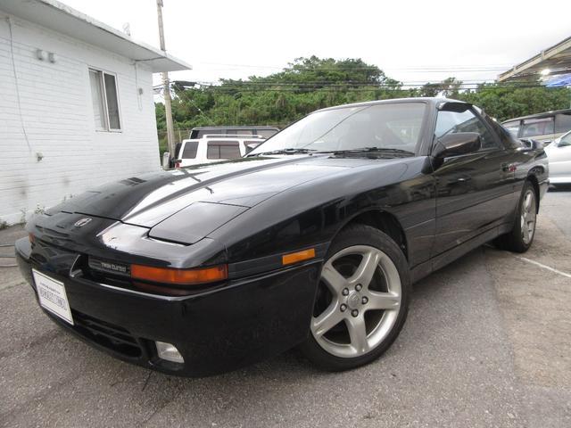 沖縄の中古車 トヨタ スープラ 車両価格 149万円 リ済別 1992(平成4)年 13.5万km ブラック