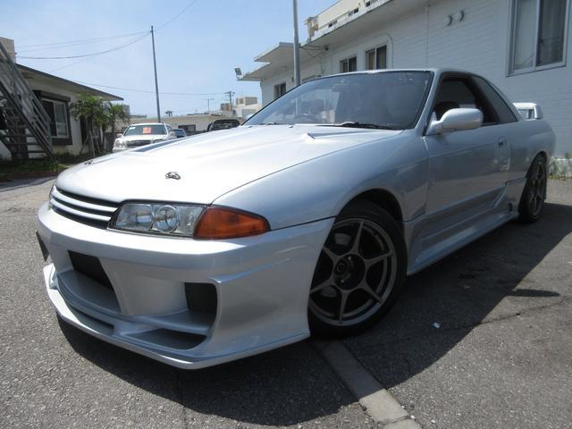 沖縄県の中古車ならスカイライン GT-R 社外フルエアロ 車高調 社外マフラー