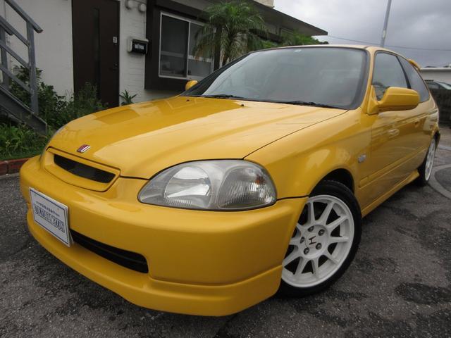 沖縄の中古車 ホンダ シビック 車両価格 189万円 リ済別 1998(平成10)年 18.3万km イエロー