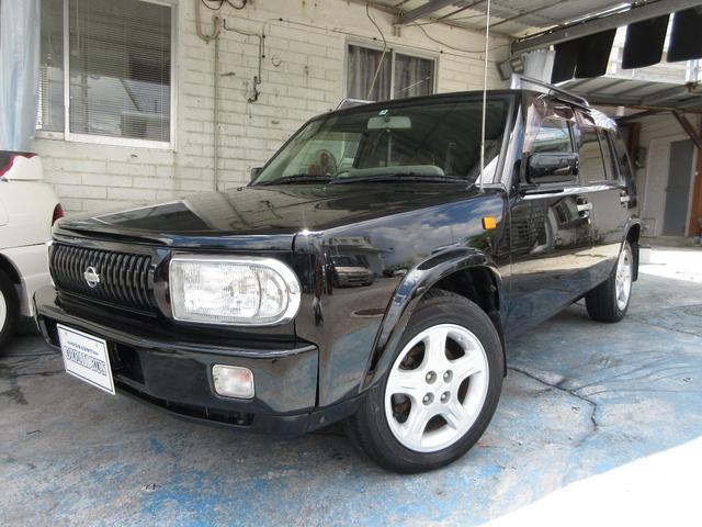 沖縄の中古車 日産 ラシーン 車両価格 65万円 リ済別 2000(平成12)年 13.1万km ブラック