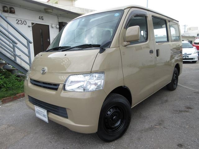 沖縄県の中古車ならタウンエースバン DX NEWオールペイント ベージュ 新品タイヤ