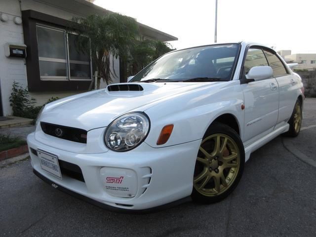 スバル インプレッサ WRX STi ワンオーナー H15〜R1まで整備記録簿あり STI3連メーター ブレンボーキャリパー 社外マフラー