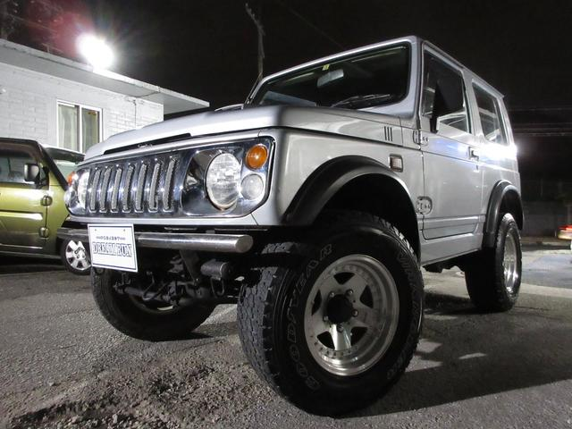 沖縄県中頭郡北谷町の中古車ならジムニー XL 社外マフラー オーバーフェンダー 社外15インチアルミ タービンリビルト品交換済み