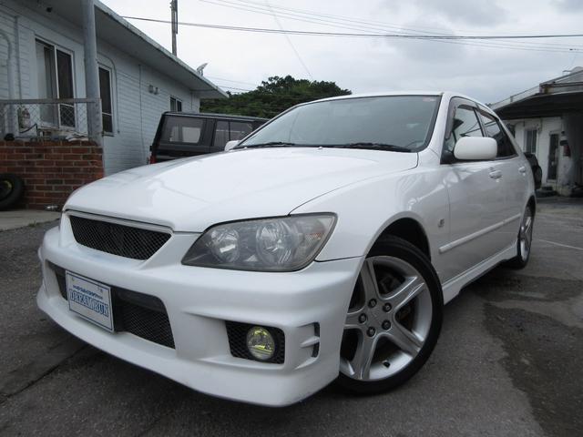 沖縄県の中古車ならアルテッツァ RS200 Zエディション 純正フルエアロ ウィング 17インチアルミ