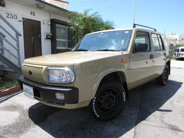 沖縄県の中古車ならラシーン タイプII ベージュオールペイント