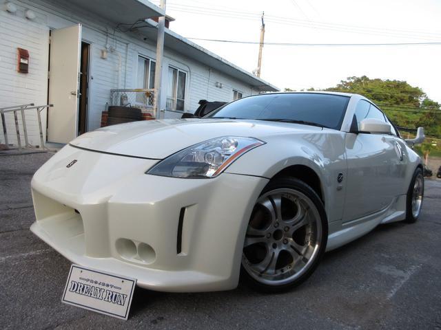 沖縄の中古車 日産 フェアレディZ 車両価格 155万円 リ済別 2004(平成16)年 15.9万km パール
