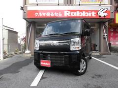 沖縄の中古車 スズキ エブリイワゴン 車両価格 129万円 リ済別 平成29年 0.6万K ブルーイッシュブラックパール3