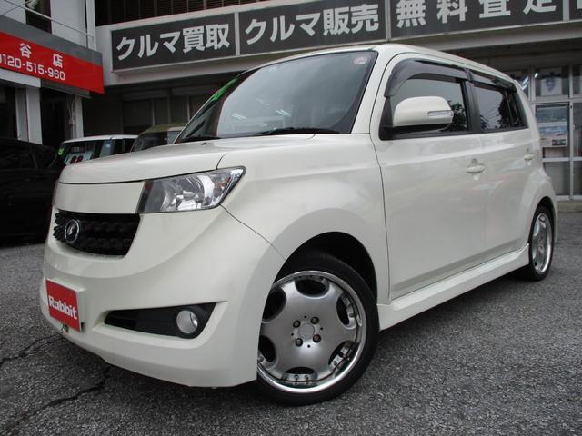 沖縄の中古車 トヨタ bB 車両価格 49万円 リ済別 2012(平成24)年 7.8万km パールホワイトI