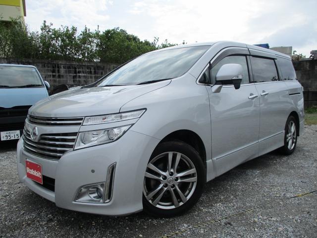 沖縄の中古車 日産 エルグランド 車両価格 139万円 リ済別 2012(平成24)年 3.4万km ブリリアントシルバーM