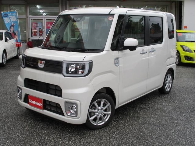 沖縄の中古車 ダイハツ ウェイク 車両価格 139万円 リ済別 2019(令和1)年 9km パールホワイト