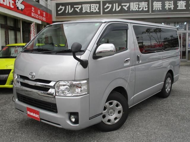 沖縄の中古車 トヨタ ハイエースバン 車両価格 212万円 リ済別 2016(平成28)年 20.7万km シルバー