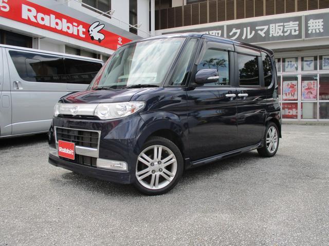 沖縄の中古車 ダイハツ タント 車両価格 ASK リ済別 2010(平成22)年 7.0万km ミスティックブルーマイカアロワナ