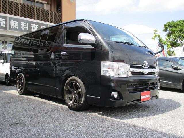 沖縄県の中古車ならレジアスエースバン ロングスーパーGL ナビ TV 社外アルミ ベットキット