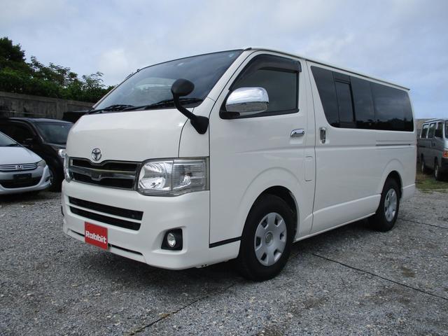 沖縄の中古車 トヨタ レジアスエースバン 車両価格 145万円 リ済別 2013(平成25)年 14.2万km ホワイト