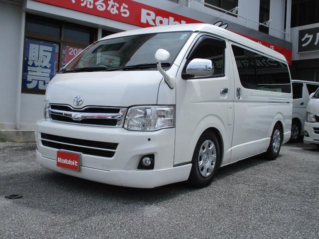 沖縄の中古車 トヨタ ハイエースバン 車両価格 179万円 リ済別 2011(平成23)年 19.6万km パールホワイト