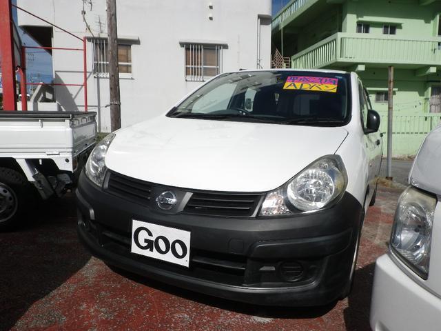 沖縄の中古車 日産 AD 車両価格 19万円 リ済込 平成20年 12.0万km ホワイト