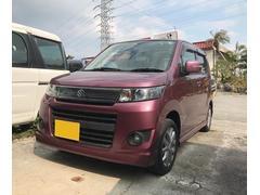 沖縄の中古車 スズキ ワゴンRスティングレー 車両価格 57万円 リ済込 平成23年 9.1万K パープル