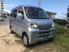 沖縄の中古車 ダイハツ ハイゼットカーゴ 車両価格 49万円 リ済込 平成21年 8.2万K シルバー